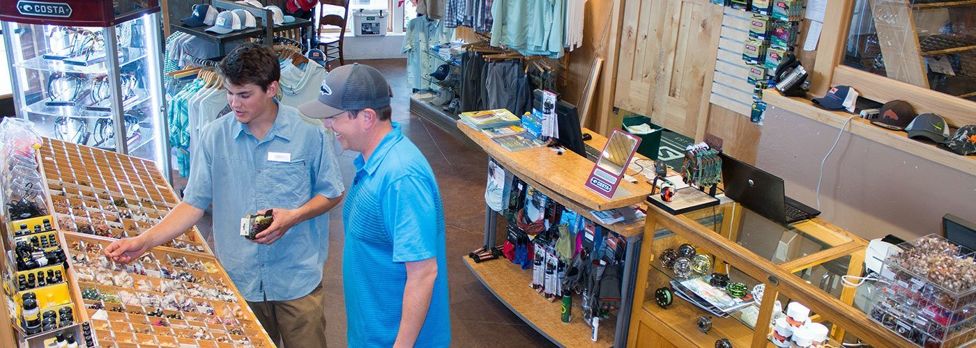 Our fly fishing store at Teton Village