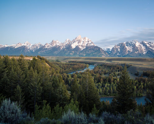 Grand teton national park and the snake river